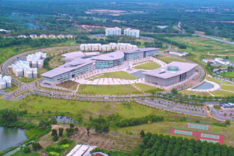 top view of AIMST University campus