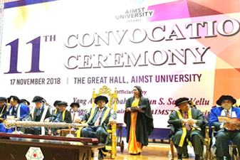 AIMST University 11th Convocation Ceremony