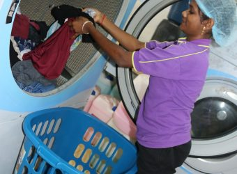 Laundrette at Student Residence