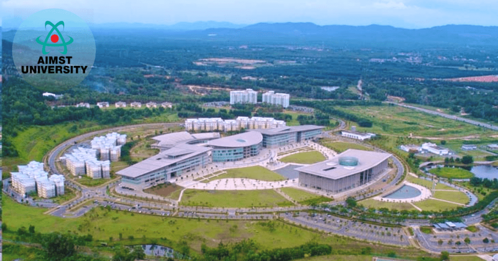 AIMST University campus topview