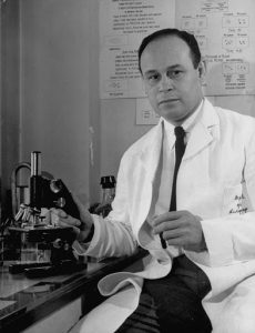 Portrait of Dr. Charles Drew (1904 - 1950), Washington DC, 1946. Drew was a professor and Head of Surgery at Howard University, Chief of Surgery at Freedman's Hospital, and an authority on preservation of human blood for transfusion