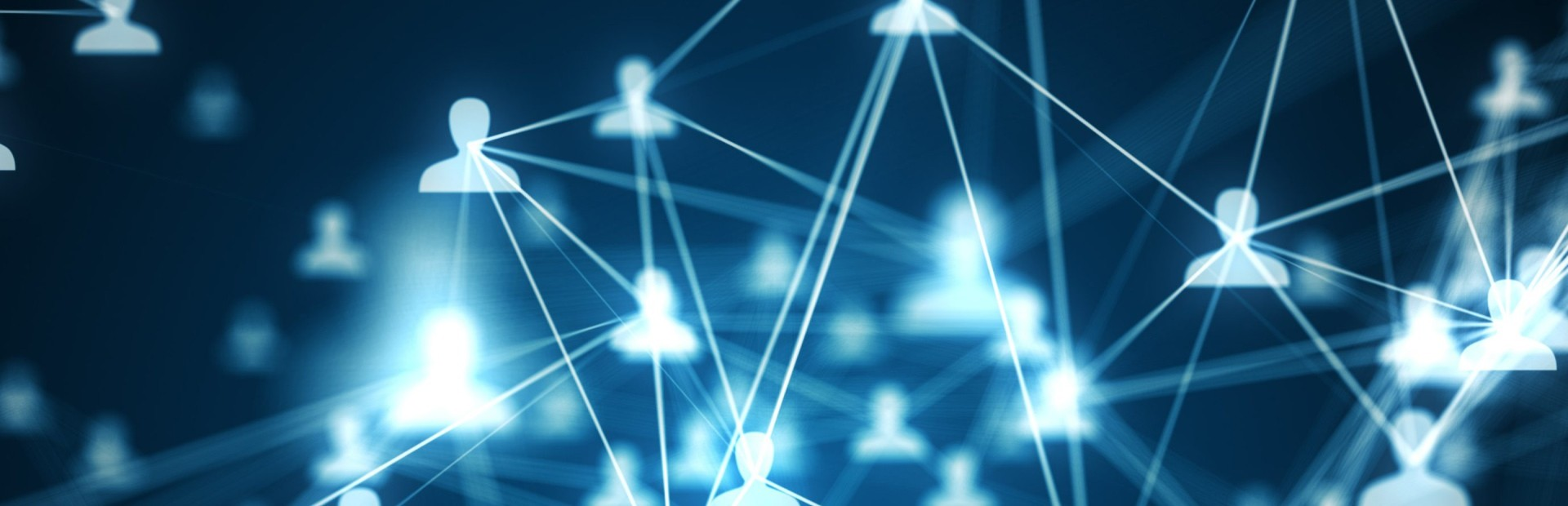 blue graphic network background